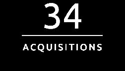 34 Acquisitions