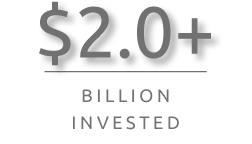 2.0+ Billion Invested