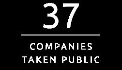 37 Companies Taken Public