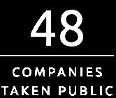 48 Companies Taken Public