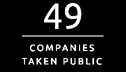 49 Companies taken public