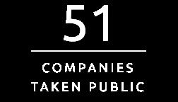 51 Companies taken public